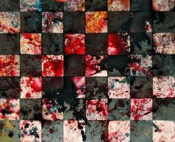 bloody chessboard by wojtar-stock