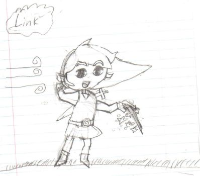 toon link by stickmaster21218