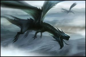 Dragon Flight by Hideyoshi