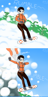 Rebecca's Avalanche Escape - extra version by phallen1