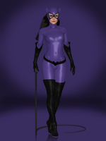 Catwoman (1990s DLC) by Sticklove