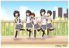 ...SHINee - Otw to school... by CLassicNightmare