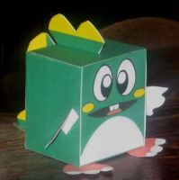 Bubble-Bobble Papercraft by paperart