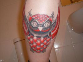 Owl tattoo - s2 by Christehh