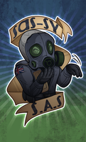 Sassy S.A.S CSGO Sticker by zombie
