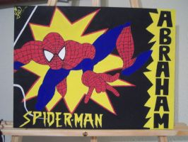 Spiderman. by tiaBoo