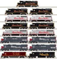 Sierra Pacific complete roster by CNW8646