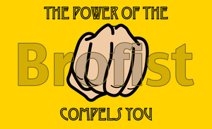 The Power of the Brofist Compels You - wallpaper by Mizu-Ookami-chan