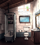 Jade's Bathroom by TalaSeba