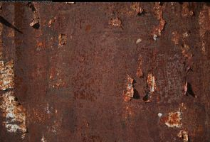 Brown rust texture 2 by enframed