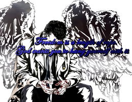 castiel by SaintAsh
