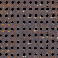 Seamless Rusted Holes by sabinvargas