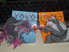 Love badges - commish by LawhanWoves