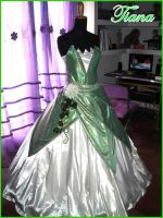 Costume commission: Tiana by Ivycosplay