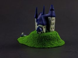 Mini Castle (angle) by PsychoticVoices