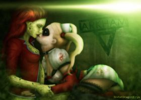 Harley and Ivy - Arkham Kiss by Mecha-Potato-Alex