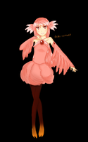 Flamingo Adoptable [OPEN] by kateheichou