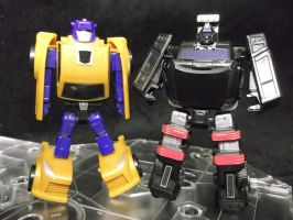 Trailbreaker and Goldbug by forever-at-peace