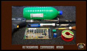 How do change the A501 battery of AMIGA 500 by kassor