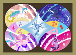 Legendary Alicorns of Equestria by Lightning-Bliss