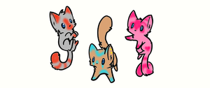 *FREE Cat Adoptables CLOSED* by PixelatedAdopts