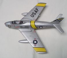 Aircraft of the Aces: McConnell's F-86F Sabre by sentinel28a