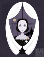 Mary Shelley by MeghanMurphy