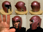 Magneto Helmet Commission by TimmCosplay