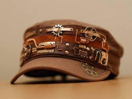 Steampunk hat V4 by yukosteel