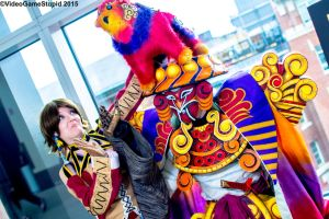 Anime Boston 2015 - Trainer and Guardian(PS) 02 by VideoGameStupid