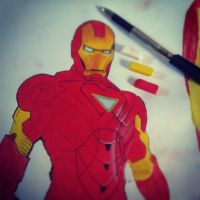 Iron Man [Unfinished] by OpheliaAntoinette