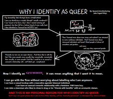 Why I identify as queer by queencolondarkwing