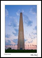 Washington Monument by kennedmh