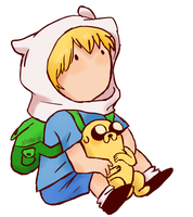 AT: Finn and Jake by NyanNekiro