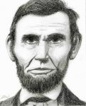 Drawing of Abraham Lincoln by ArtmasterRich