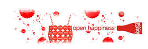 Open Coke, Open Happines by thequietblabber