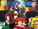 Shinjiro meeting Charles Martinet (voice of Mario) by KingOfJin