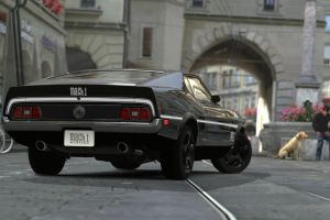 1971 Ford Mustang Mach 1 GT5 by repinswodahs