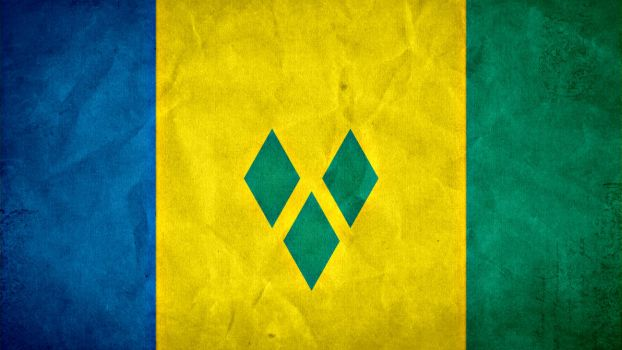 Saint Vincent and the Grenadines Grunge Flag by SyNDiKaTa-NP