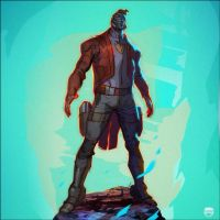 Star-lord by CoranKizerStone