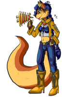 Steampunk Carmelita by SnookumsGal