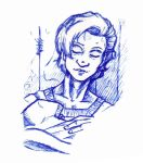 Blue Doodle from The Healer by GlyphBellchime