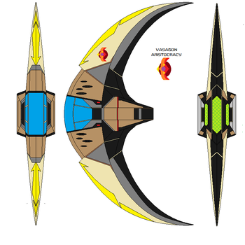 Vasagon Heavy  fighter VR66 by bagera3005