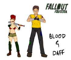 Blood and Daff humanized by glue123