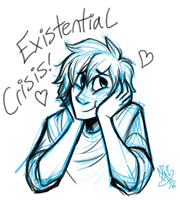 Existential Crisis! by spookydoom