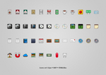 icons set 32px - WIP by Mickka