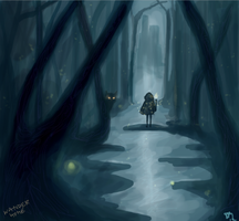 Wander Home concept art by fearsmeltaway
