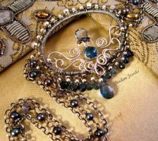 Contessa Necklace by sparkfairy