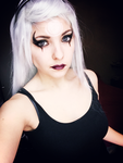 Diana from League of Legends make up test by Dragunova-Cosplay
