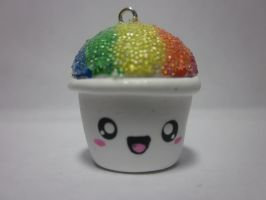 Polymer Clay Snow Cone Cup by Darklunax110